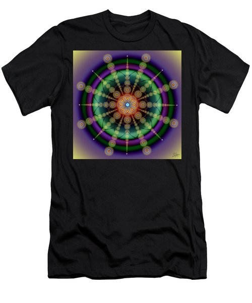 Sacred Geometry 652 Men's T-Shirt (Athletic Fit)