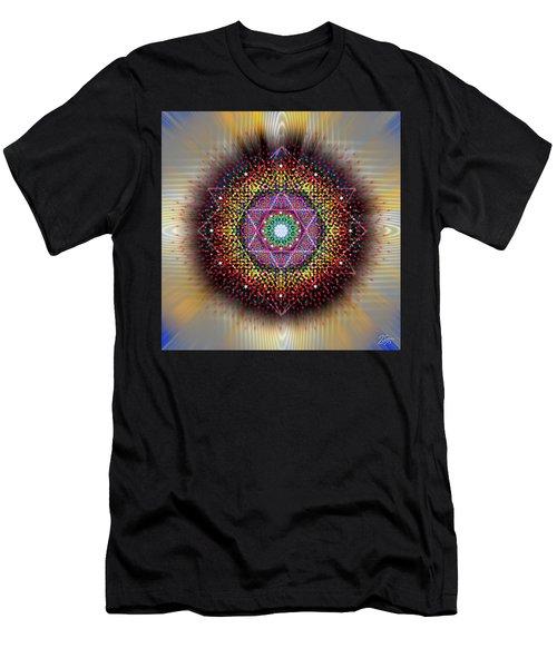 Sacred Geometry 657 Men's T-Shirt (Athletic Fit)