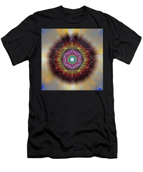 Sacred Geometry 657 Men's T-Shirt (Athletic Fit)