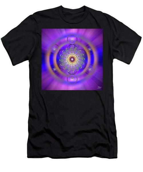 Sacred Geometry 658 Men's T-Shirt (Athletic Fit)