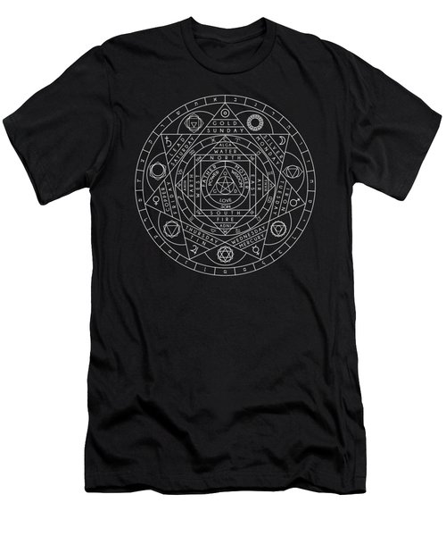 Sacred Geometry Men's T-Shirt (Athletic Fit)