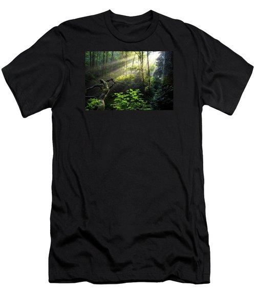Sacred Light Men's T-Shirt (Slim Fit) by Chad Dutson