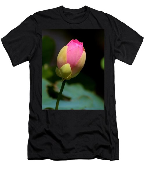 Sacred Lotus Bud 3 Men's T-Shirt (Athletic Fit)