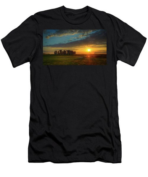 Sacred Sunset Men's T-Shirt (Athletic Fit)