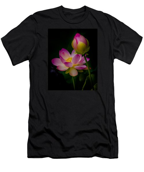 Sacred Water Lily 4 Men's T-Shirt (Athletic Fit)