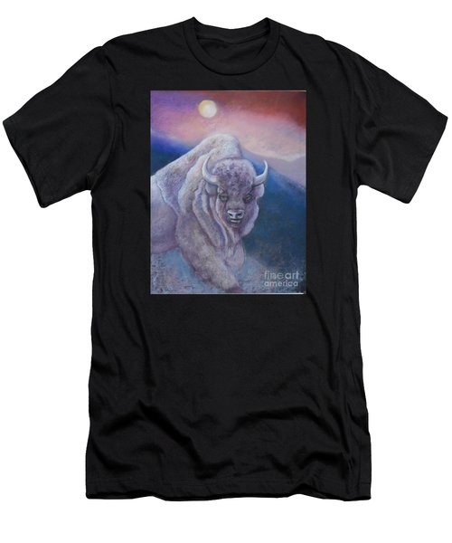 Sacred White Buffalo Men's T-Shirt (Athletic Fit)