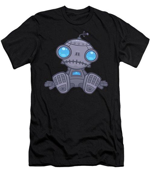 Sad Robot Men's T-Shirt (Athletic Fit)