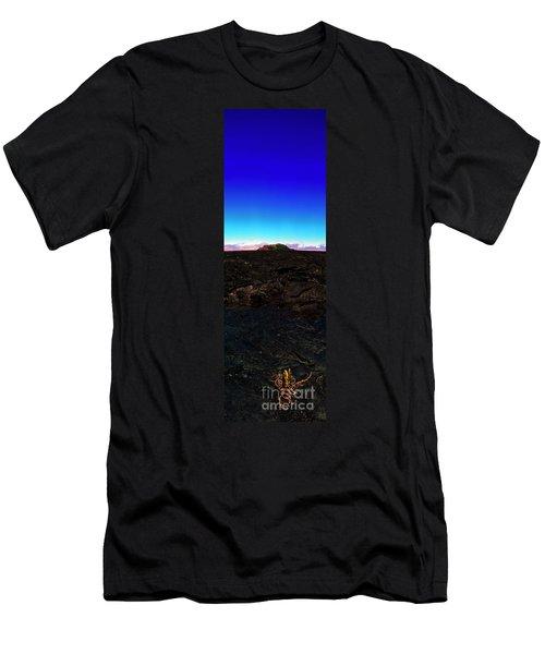 Saddle Road Humuula Lava Field Big Island Hawaii  Men's T-Shirt (Athletic Fit)