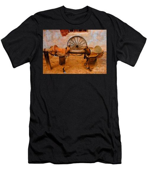 Saddle Town Men's T-Shirt (Athletic Fit)