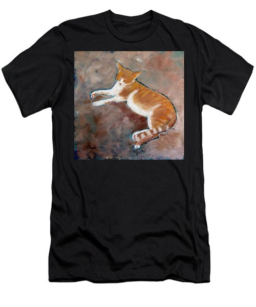 Saddle Tramp- Ranch Kitty Men's T-Shirt (Athletic Fit)
