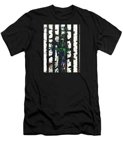 Men's T-Shirt (Athletic Fit) featuring the painting Sadie by Robbie Masso
