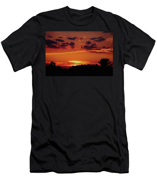 Men's T-Shirt (Slim Fit) featuring the photograph Sadie's Sunset by Bruce Patrick Smith