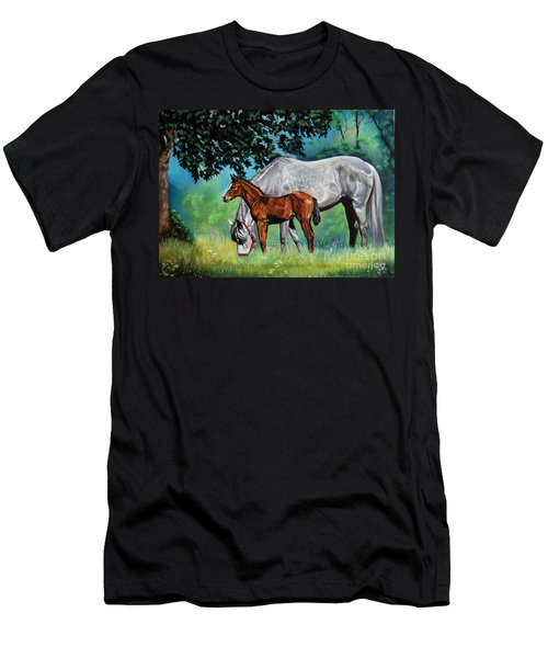 Safe Curiosity Men's T-Shirt (Athletic Fit)
