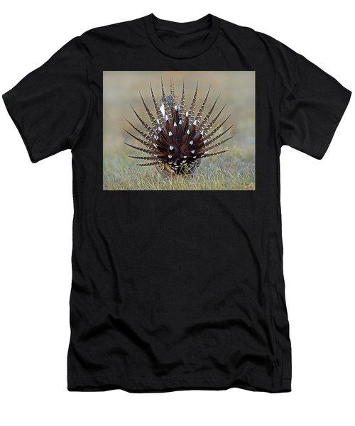 Sage-grouse Tail Fan Men's T-Shirt (Athletic Fit)
