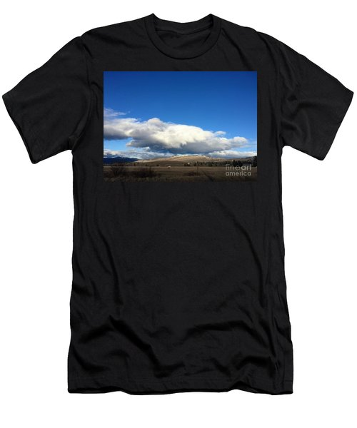 Men's T-Shirt (Athletic Fit) featuring the photograph Sage Hill Ranch by Victor K