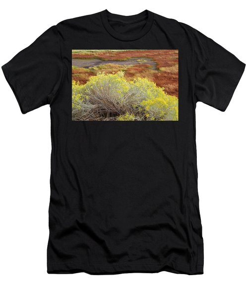 Sagebrush In The Malheur National Wildlife Refuge Men's T-Shirt (Athletic Fit)