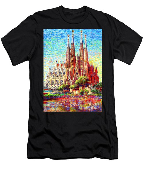 Sagrada Familia Men's T-Shirt (Athletic Fit)