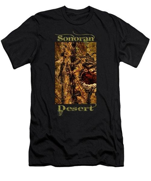 Saguaro Detail No. 12 Men's T-Shirt (Athletic Fit)