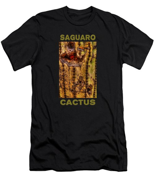 Saguaro Detail No. 18 Men's T-Shirt (Athletic Fit)