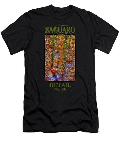 Saguaro Detail No. 26 Men's T-Shirt (Athletic Fit)