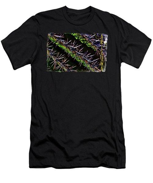 Saguaro Detail No. 28 Men's T-Shirt (Athletic Fit)