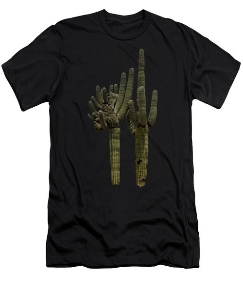 Saguaro Duo Men's T-Shirt (Athletic Fit)