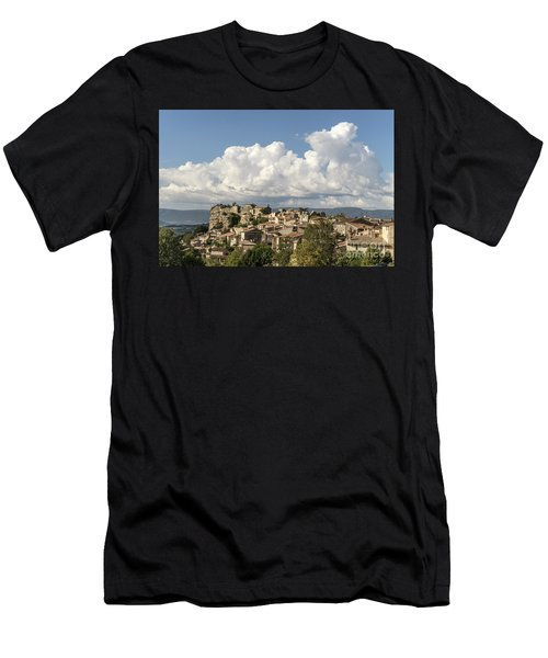 Men's T-Shirt (Athletic Fit) featuring the photograph Saignon Village Provence  by Juergen Held