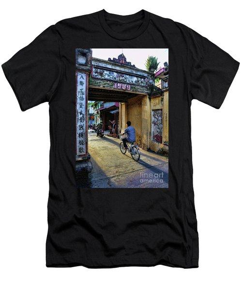 Saigon History  Men's T-Shirt (Slim Fit) by Chuck Kuhn