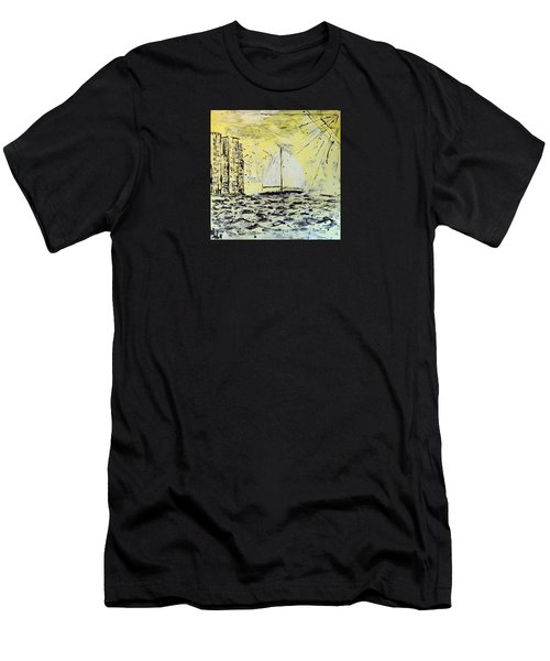 Sail And Sunrays Men's T-Shirt (Athletic Fit)