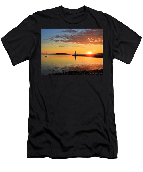 Sail Into The Sunrise Men's T-Shirt (Athletic Fit)