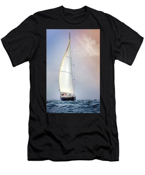 Sailboat 9 Men's T-Shirt (Athletic Fit)