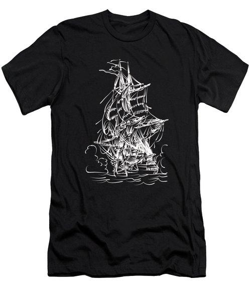 Sailing 2  Men's T-Shirt (Athletic Fit)