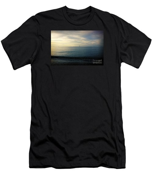 Sailing Cedar Men's T-Shirt (Slim Fit) by Paul Cammarata