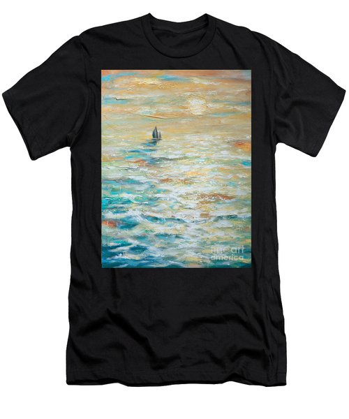 Sailing Into The Sunset Men's T-Shirt (Athletic Fit)