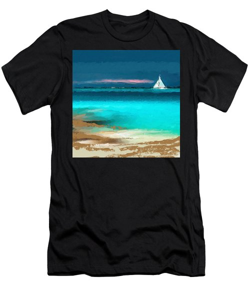 Sailing Just Offshore Men's T-Shirt (Athletic Fit)