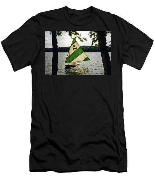 Sailing On Lake Dunmore No. 1 Men's T-Shirt (Athletic Fit)