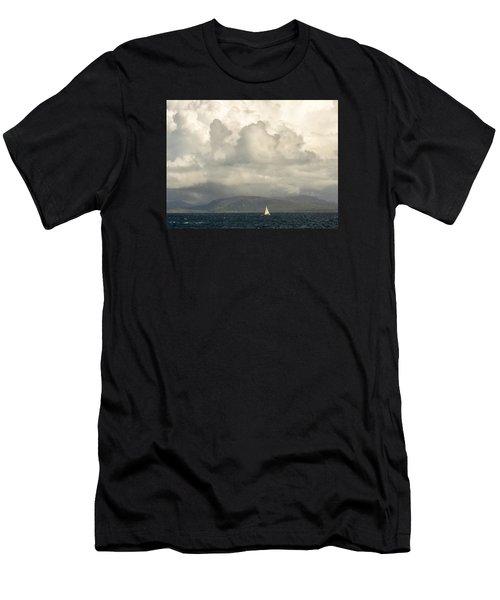 Sailing Scottish Seas Men's T-Shirt (Athletic Fit)