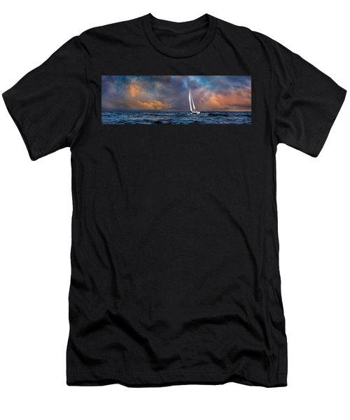 Sailing The Wine Dark Sea Men's T-Shirt (Athletic Fit)