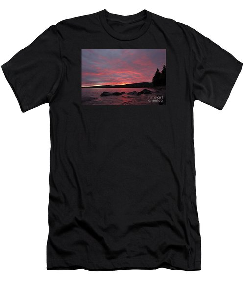 Men's T-Shirt (Slim Fit) featuring the photograph Sailor's Delight by Sandra Updyke