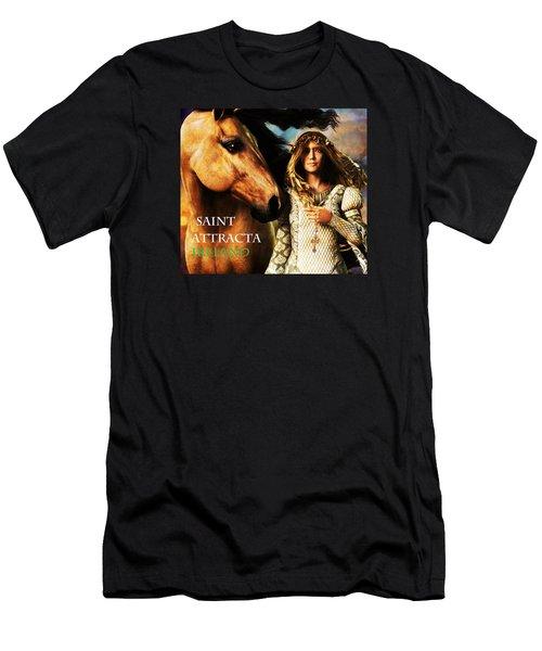 Saint Attracta Men's T-Shirt (Athletic Fit)