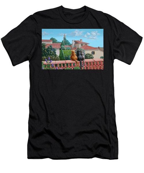 Saint-frajou. August. Men's T-Shirt (Athletic Fit)