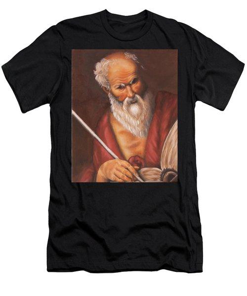 Saint Jerome Men's T-Shirt (Athletic Fit)