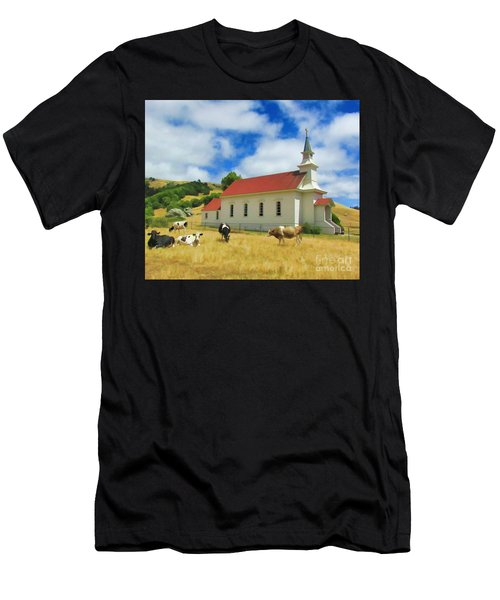 St. Mary's Visitors Men's T-Shirt (Athletic Fit)