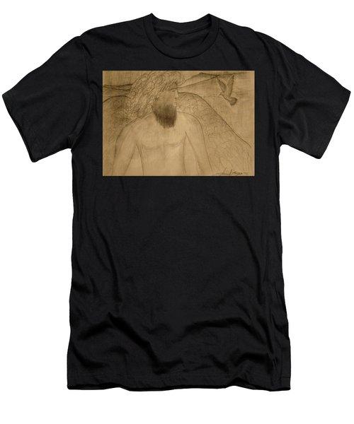 Saint Michael The Archangel Men's T-Shirt (Athletic Fit)