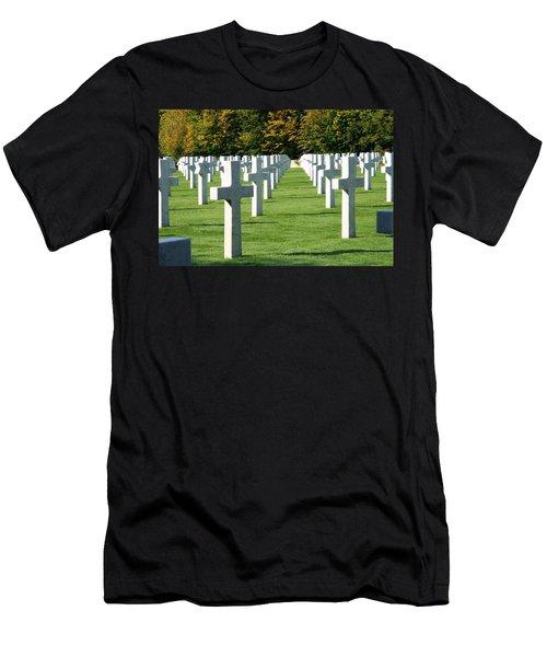 Saint Mihiel American Cemetery Men's T-Shirt (Athletic Fit)