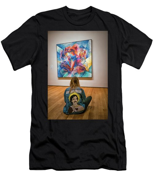 Saint Pablito At Moma Men's T-Shirt (Athletic Fit)