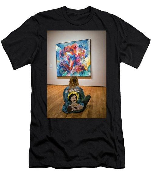 Saint Pablito At Moma Men's T-Shirt (Athletic Fit)