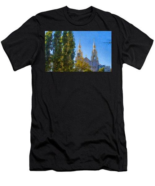 Saints Peter And Paul Church Men's T-Shirt (Athletic Fit)