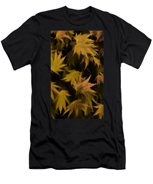 Japanese Autumn  Men's T-Shirt (Athletic Fit)