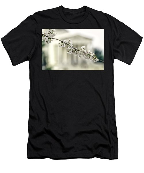 Sakura At The Basin Men's T-Shirt (Athletic Fit)